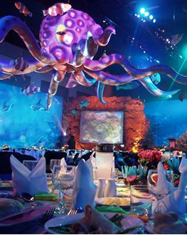 Picture of Inflatable Octopus 12m wide x 2.7m H