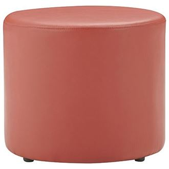 Picture of Ottoman Round Red