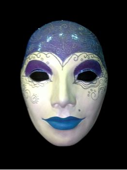 Picture of Mask - Purple / Blue Lip