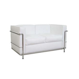 Picture of Le Corbusier Replica White Lounge 2 Seat