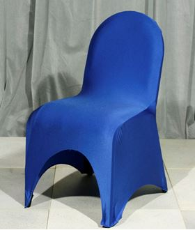 Picture of Chair Cover Blue Lycra