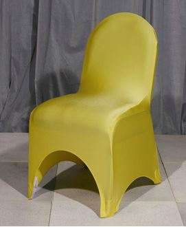 Picture of Chair Cover Gold Lycra