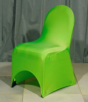 Picture of Chair Cover Lime Green Lycra