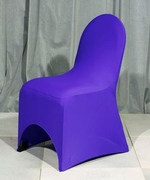 Picture of Chair Cover Purple Lycra