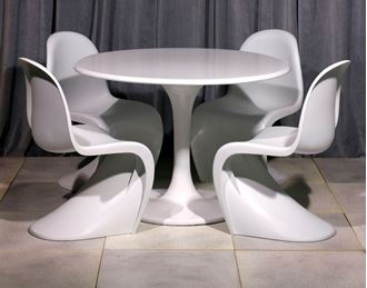 Picture of Panton Table and Chair replica