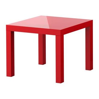 Picture of Coffee Table Red - 40 x 40 x 45cmH