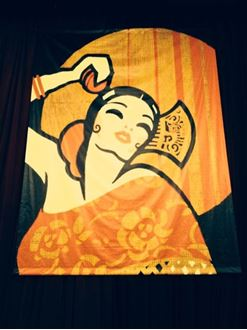 Picture of Poster Spanish Dancer  4m x 3m