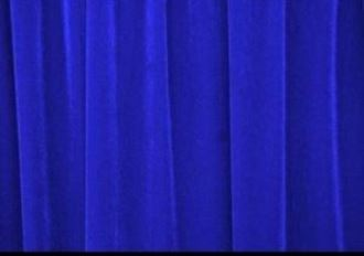 Picture of Blue Velvet Curtains