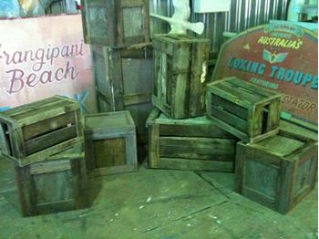 Picture of Crates - wooden