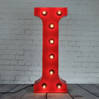 Picture of Marquee Letter - I