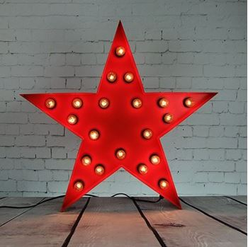 Picture of Marquee Light - Star