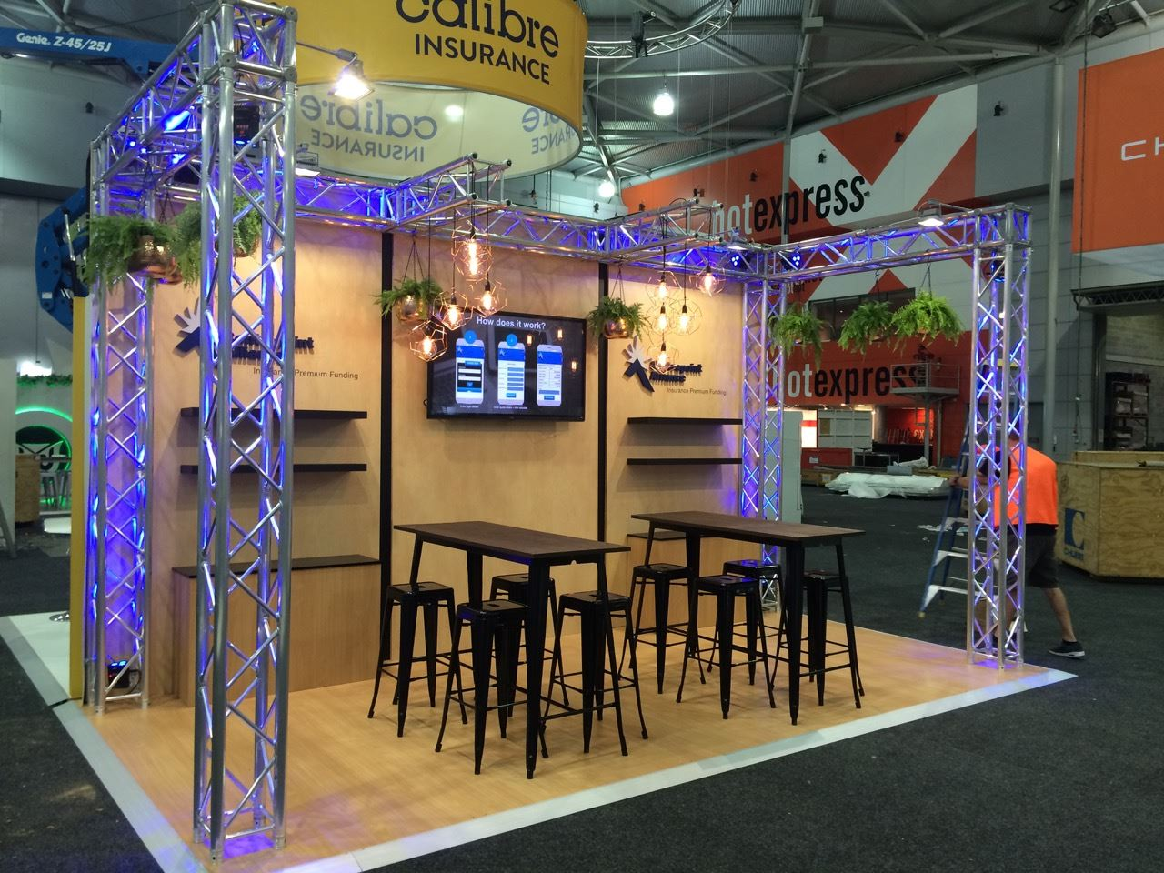 Car Exhibition Booth : Staging dimensions brisbane prop hire event