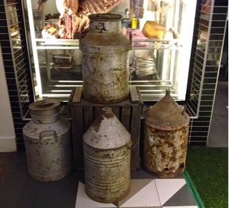 Picture of Milk Churns & Gasoline cans