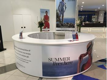Picture of circular counter 4m diamater