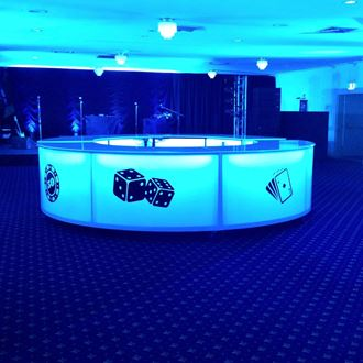 Picture of  Glow Bar - Casino Theme