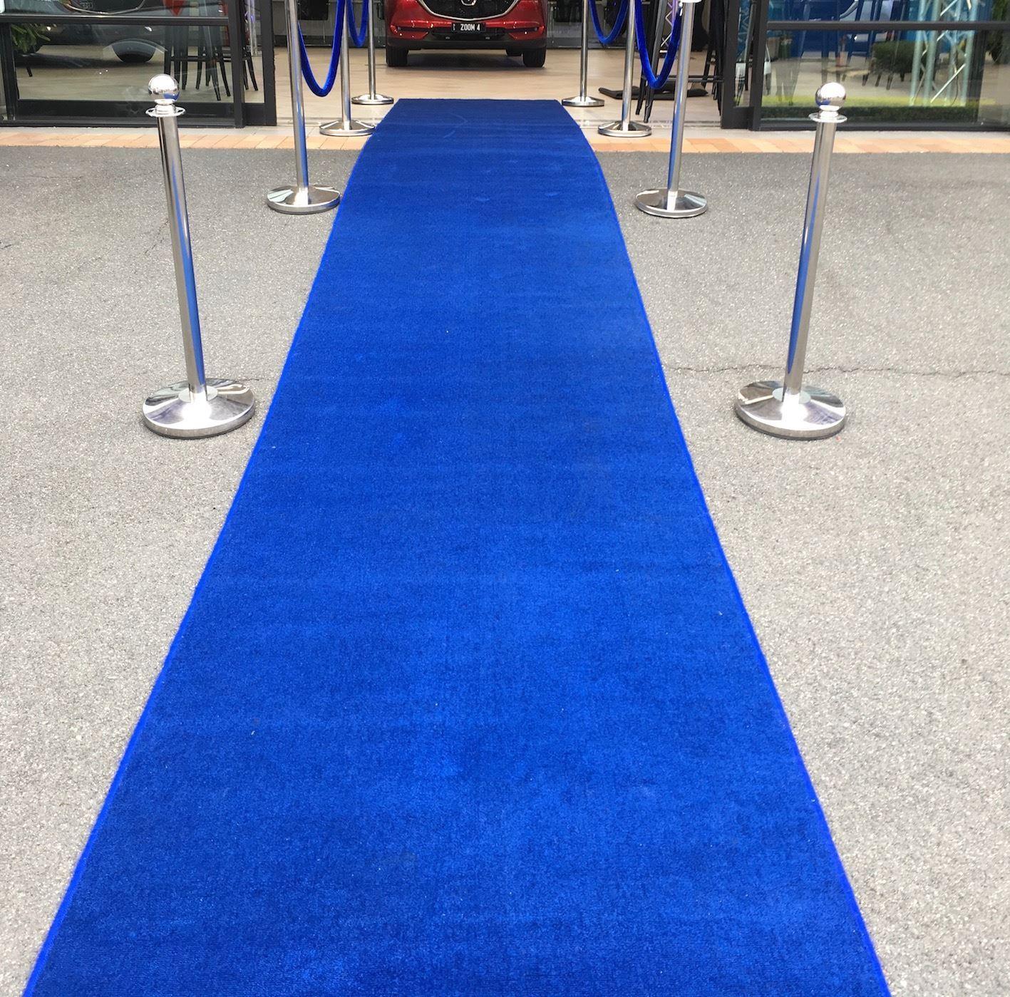 Blue Carpet Runner
