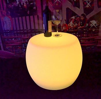 Picture of Glow - Ottoman - Table