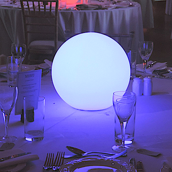 Picture of Glow Sphere Centrepiece