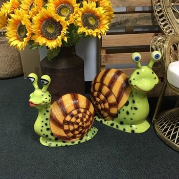 Picture of Snail Statues