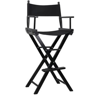 Picture of Director/makeup Chair - High (Black)