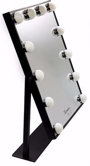 Picture of Glamour Make up mirror - Small Black