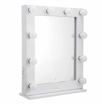 Picture of Glamour Make up Mirror - Glossy White