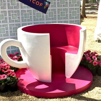 Picture of Giant Teacup & saucer