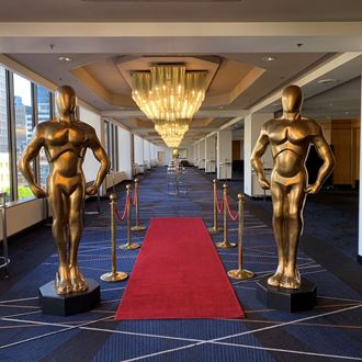 Picture of Gold Award Statue