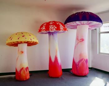 Picture of inflatable  Mushroom 2m, 2.5m and 3m H