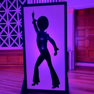 Picture of DISCO Dancer panel - backlit