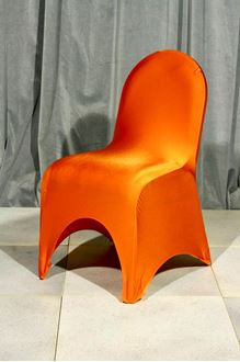 Picture of Chair Cover Orange Lycra