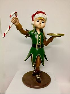 Picture of Christmas Elf Statue