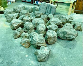 Picture of Plastic Rocks - various sizes