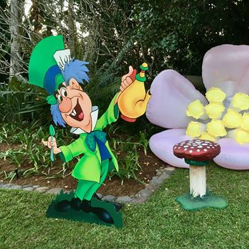 Picture of Cutout Mad Hatter