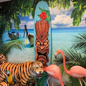 Picture of  Surfboard Cutout  11 - tiki