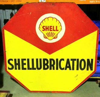 Picture of Sign Shell Lubrication