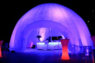 Picture of Inflatable Circular Dome 12m W x 7m H