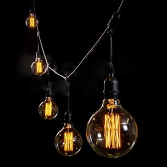 Picture of Festoon Lighting-Vintage bulb