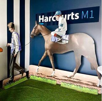 Picture of Cutout Horse, Jockey & Steward