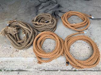 Picture of Old Rope 45mm diameter    Quantity:  1 x 10m -  1 x 11m - 1 x 14m - 1 x 20m