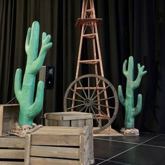 Picture of Cactus - paper maiche with hard coat(1.5m & 1.8m H)