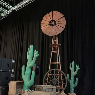 Picture of Outback Windmill  ( 4.3m H x 1.2m W )